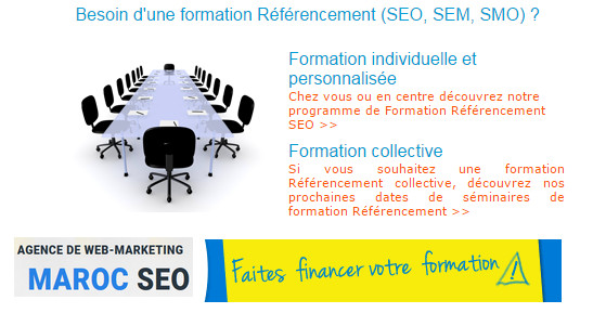 formation referencement maroc